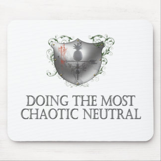 Chaotic Neutral Mouse Pad