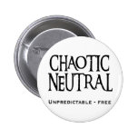 """""""Chaotic Neutral"""" Pinback Buttons"""