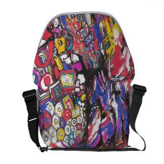 Chaotic Rhythm Bag Commuter Bag