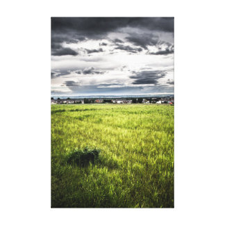 Chaotic Sky Canvas Print