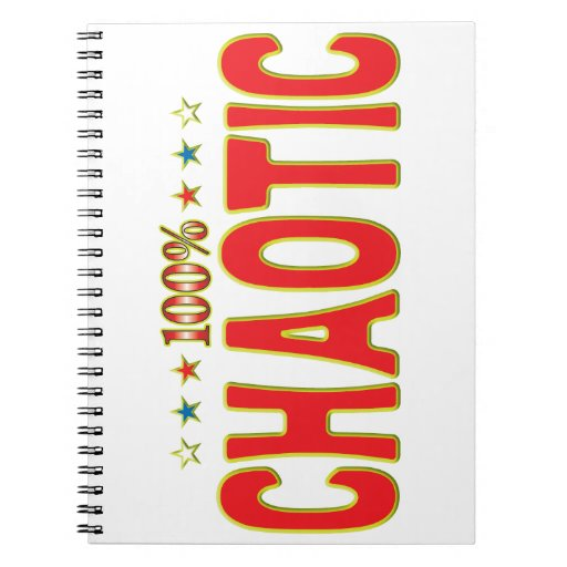 Chaotic Star Tag Notebooks