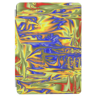 Chaotic ugly pattern iPad air cover
