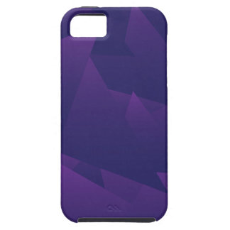 Chaotic Violet Triangles iPhone 5 Case