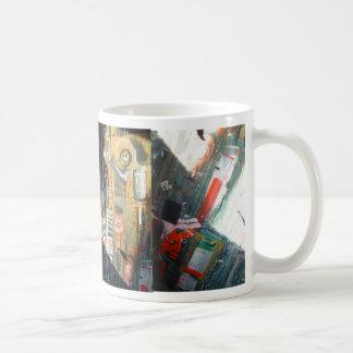 chaotic wildstyle basic white mug