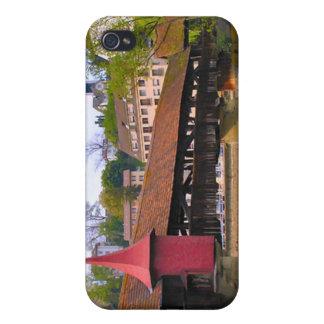 Chapel Bridge, Lucerne Case For iPhone 4