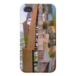 Chapel Bridge, Lucerne, iPhone 4/4S Case