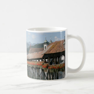 Chapel Bridge, Lucerne, Switzerland Coffee Mug