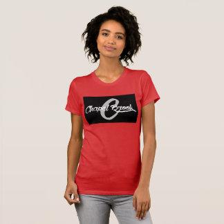 chapel brook red vneck T-Shirt