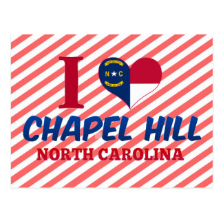 Chapel Hill, North Carolina Postcard