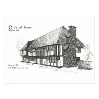 Chapel House, Rainham Postcard