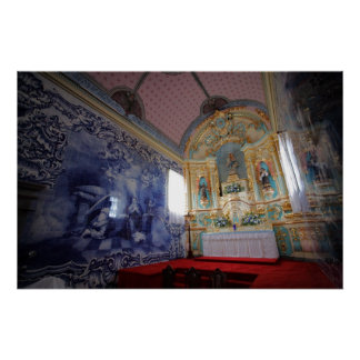 Chapel in Azores Posters