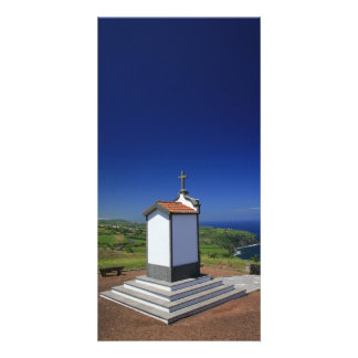 Chapel in the Azores Custom Photo Card