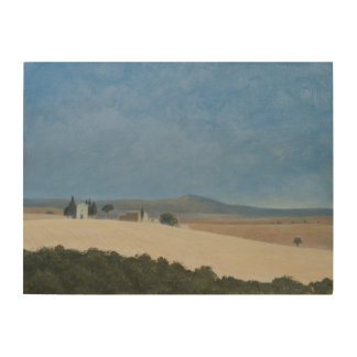 Chapel near Pienza 2012 Wood Print