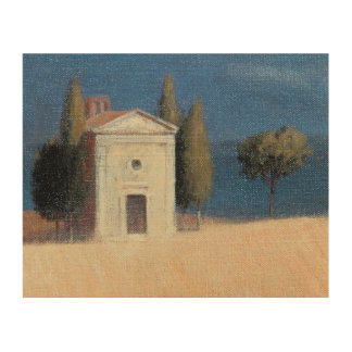 Chapel near Pienza II 2012 Wood Print