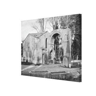 Chapel of Saint-Accurse Canvas Print