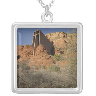 Chapel of the Holy Cross Silver Plated Necklace