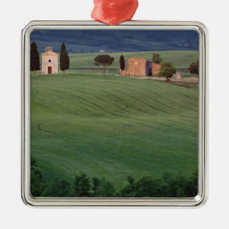 Chapel San Quirico d'Orcia, Tuscany, Italy Christmas Ornament