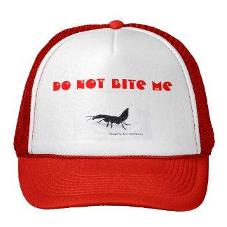 Chapéu Do not bite me Mesh Hats