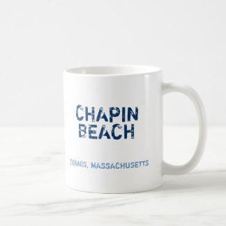 CHAPIN, BEACH, DENNIS, MASSACHUSETTS, CHILLIN',... BASIC WHITE MUG