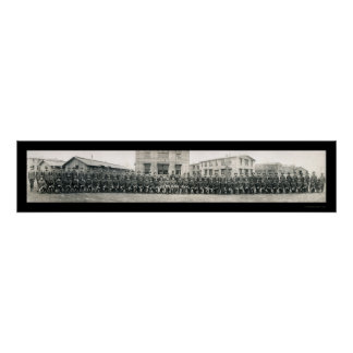 Chaplain Army School Photo 1918 Posters