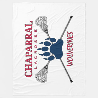 ChapLAX Claw Logo on Fleece Blanket (3 Sizes)