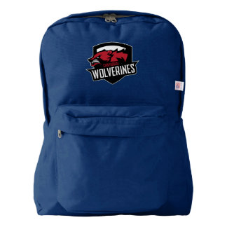 ChapLAX Wolverine American Apparel Back Pack