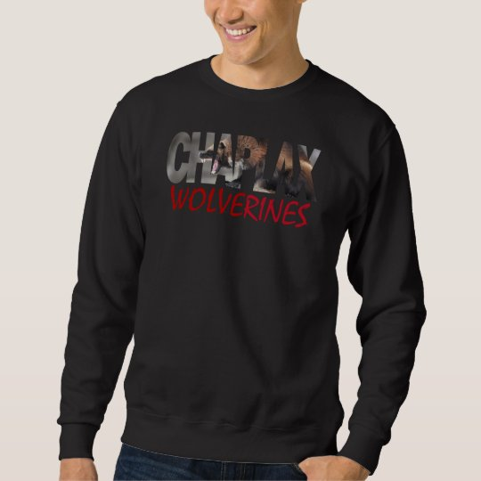 CHAPLAX WOLVERINES Men's Basic Sweatshirt