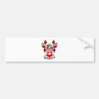 CHAPMAN Coat of Arms Bumper Sticker
