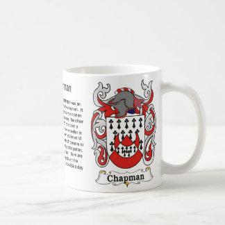 Chapman Family Coat of Arms Mug