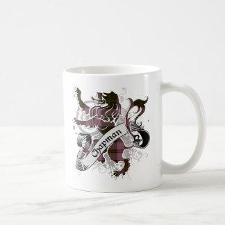 Chapman Tartan Lion Coffee Mug