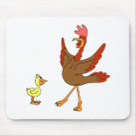 Chappy & Chippy chicken Mouse Pad