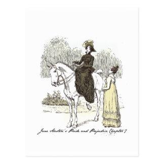 Chapter 7.5 Hugh Thomson Pride and Prejudice Postcard
