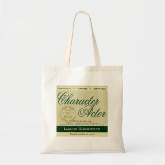 Character Actor Tote Bag