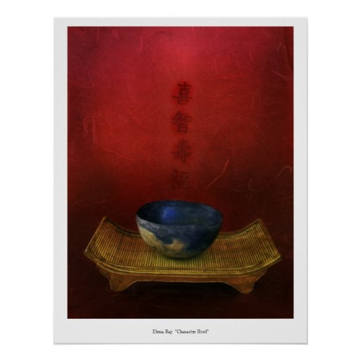 Character Bowl Print