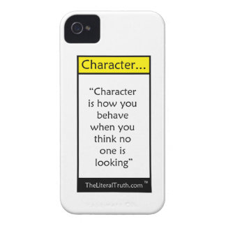Character... iPhone 4 Cover