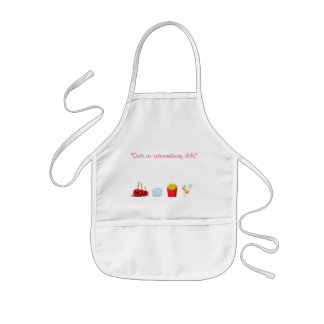 character clothing kids books Sous Chef Kids Apron