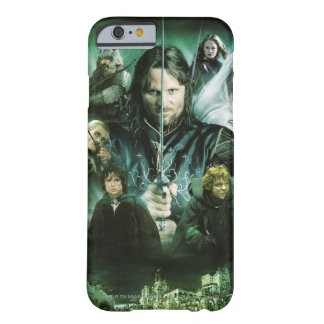 Character Collage Barely There iPhone 6 Case