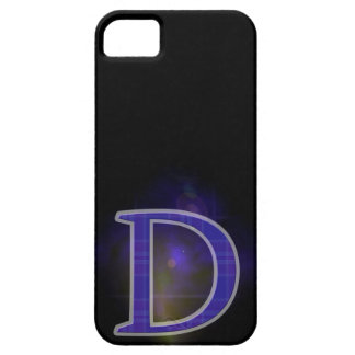 Character D Barely There iPhone 5 Case