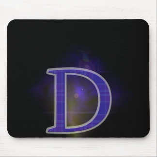 Character D Mouse Pad