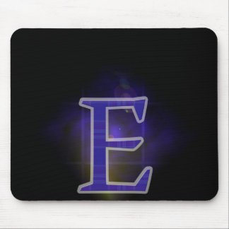 Character E Mouse Pad