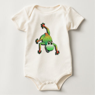Character Frog One-piece Baby Bodysuit