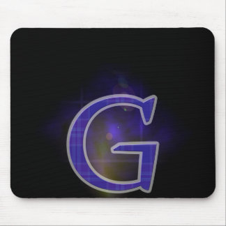 Character G Mouse Pads