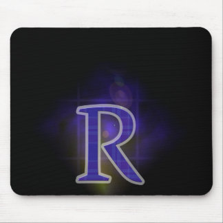 Character R Mouse Pad