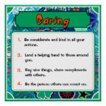 Character Traits Posters, Caring - 3 of 6 Poster