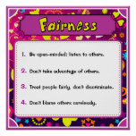 Character Traits Posters, Fairness - 4 of 6
