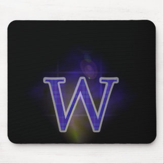 Character W Mouse Pad
