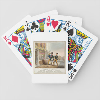 Characteristics - England, Ireland and Scotland, e Bicycle Playing Cards