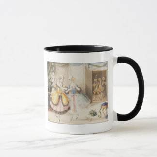 Characters from 'Cosi fan tutte' by Mozart, 1840 Mug