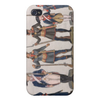 Characters of the French Revolution Cases For iPhone 4