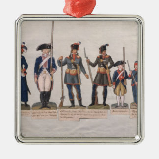 Characters of the French Revolution Christmas Ornament